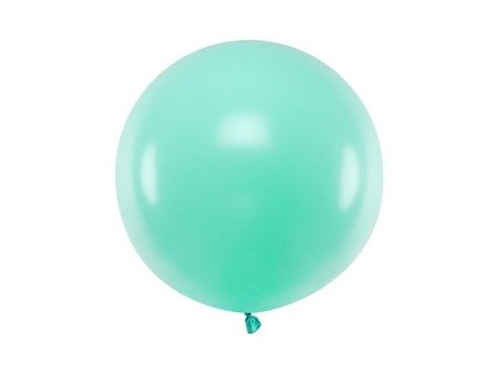 Balon okrągły 60cm, Pastel Light Mint